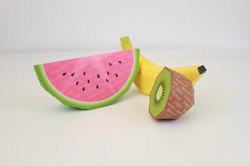 Fruits of the Spirit 3D Papercraft