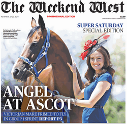 The Weekend West 22 Nov 14 Cover Pg