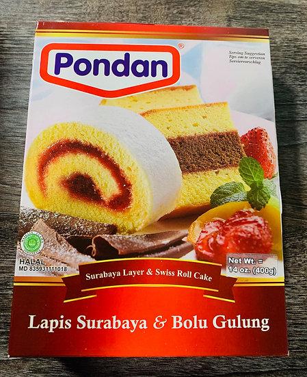 Pondan Surabaya Layer Cake Mix