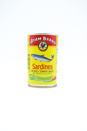 Ayam Sardines in Spicy Tomato