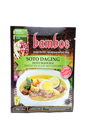 Bamboe Soto Daging /Madura