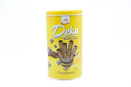 Deka Wafer Roll ChocoBanana