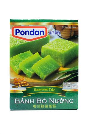 Pondan Bika Ambon Green