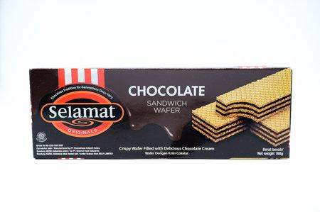 Selamat Chocolate Sandwich Wafer