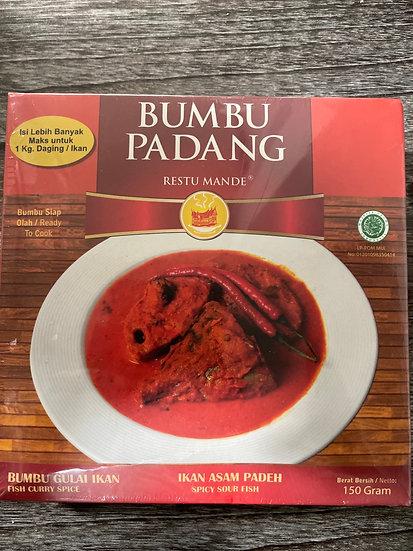 Restu mande ikan asam Padeh