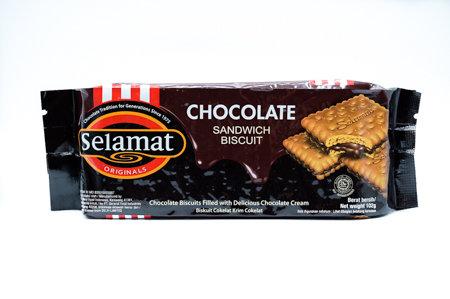 Selamat Chocolate Sandwich Biscuit