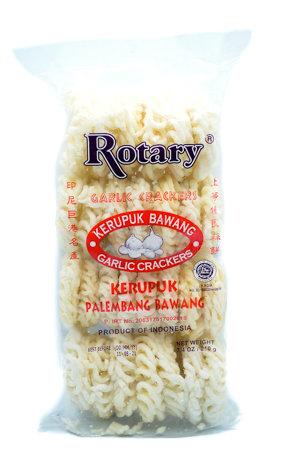 Rotary Garlic Crackers