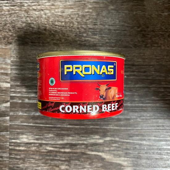 Pronas Kornet Daging Sapi (Can, Circle)