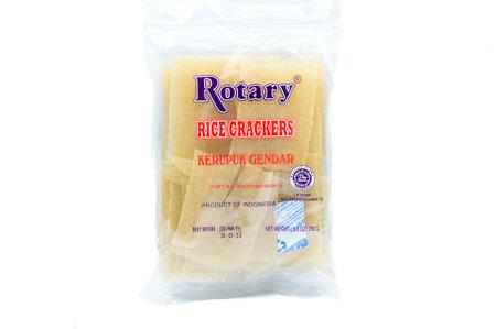 Rotary Rice Crackers/Gendar (Raw)