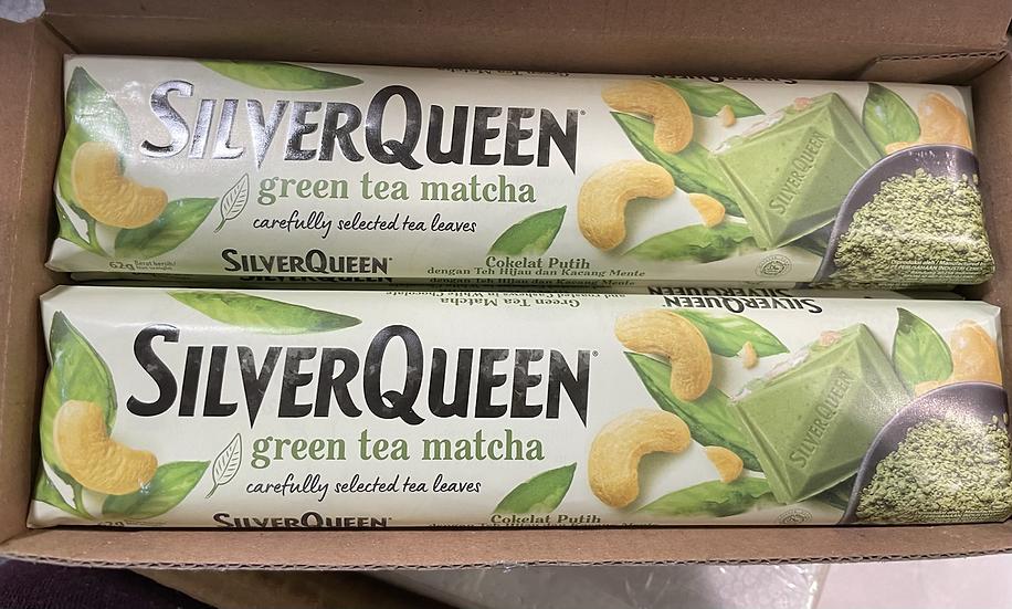 Silver queen green tea matcha