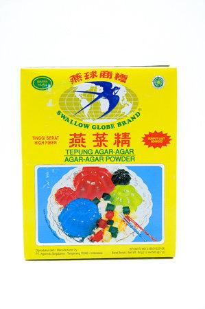 Swallow Agar Agar Green Jelly Powder