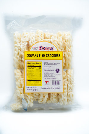 Sena Square Fish Crackers