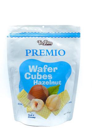 TresBon Wafer Cubes Hazelnut