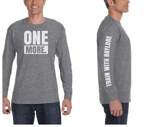 "Long Sleeve ""One More"" Tee"