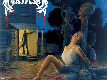 """20 AWESOME """"HORROR INSPIRED"""" ALBUM COVERS"""