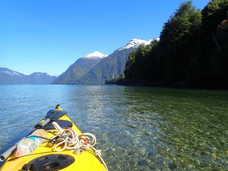 Les glaciers de Patagonie en kayak de mer