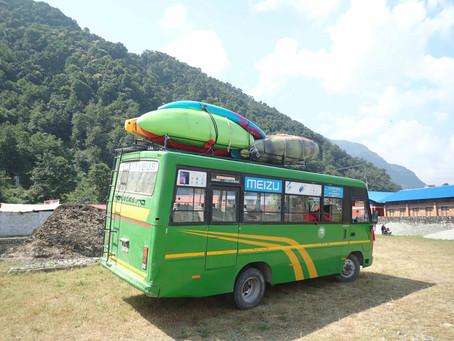 La découverte du Népal en kayak
