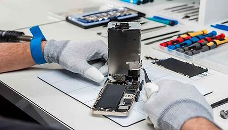 iphone being repaired by  technician.jpeg