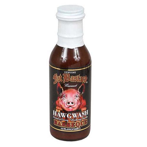 Fat Bastard Hawgwash Sweet and Sassy Hickory Smoke Barbeque Sauce