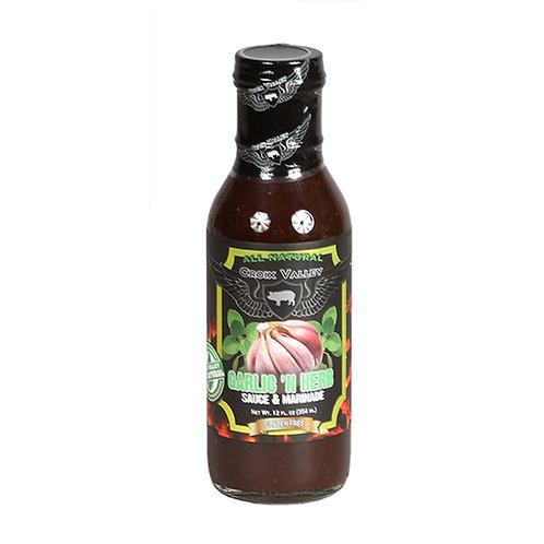 Croix Valley Garlic Sauce & Marinade