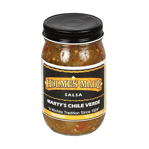 Holmes Marty's Chili Verde Medium Salsa