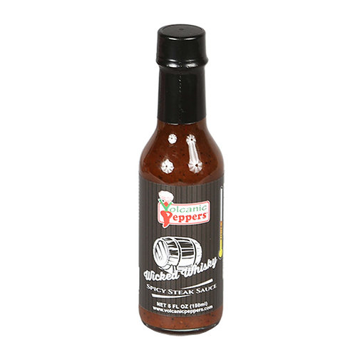 Volcanic Peppers Wicked Whiskey Sauce