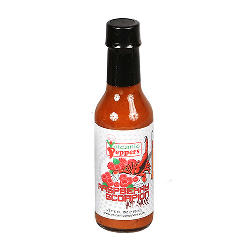 Volcanic Peppers Raspberry Scorpion Sauce