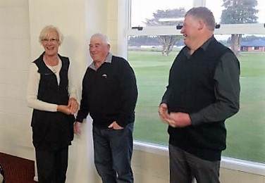 New Life Member for Golf Club