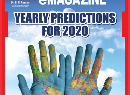 Yearly Predictions for 2020, from Astrological eMagazine