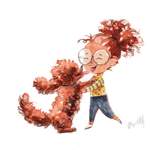 Girl With curly haired dog.jpg