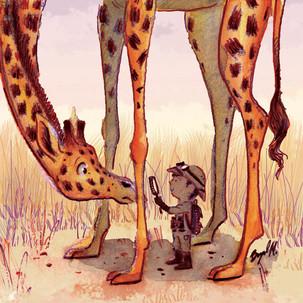 Boy and Giraffe