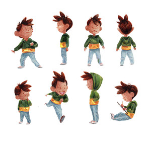 Chicken Boy Character Design