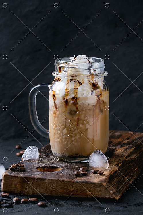 MILKY COFFITA WITH ICE-CREAM