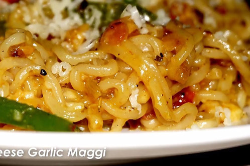 GARLIC CHEESE MAGGIE