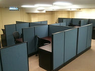 Oz Installation Office Cubicle Reconfiguration
