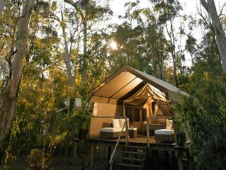 Glamping = Glamour + Camping