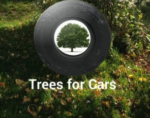 Trees for Cars: Ride-sharing is Caring