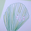 Thumbnail: Little Frilly Green Shell Original Drawing