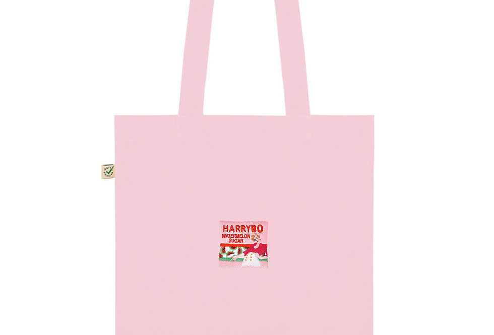 Harrybo Pink Tote Bag