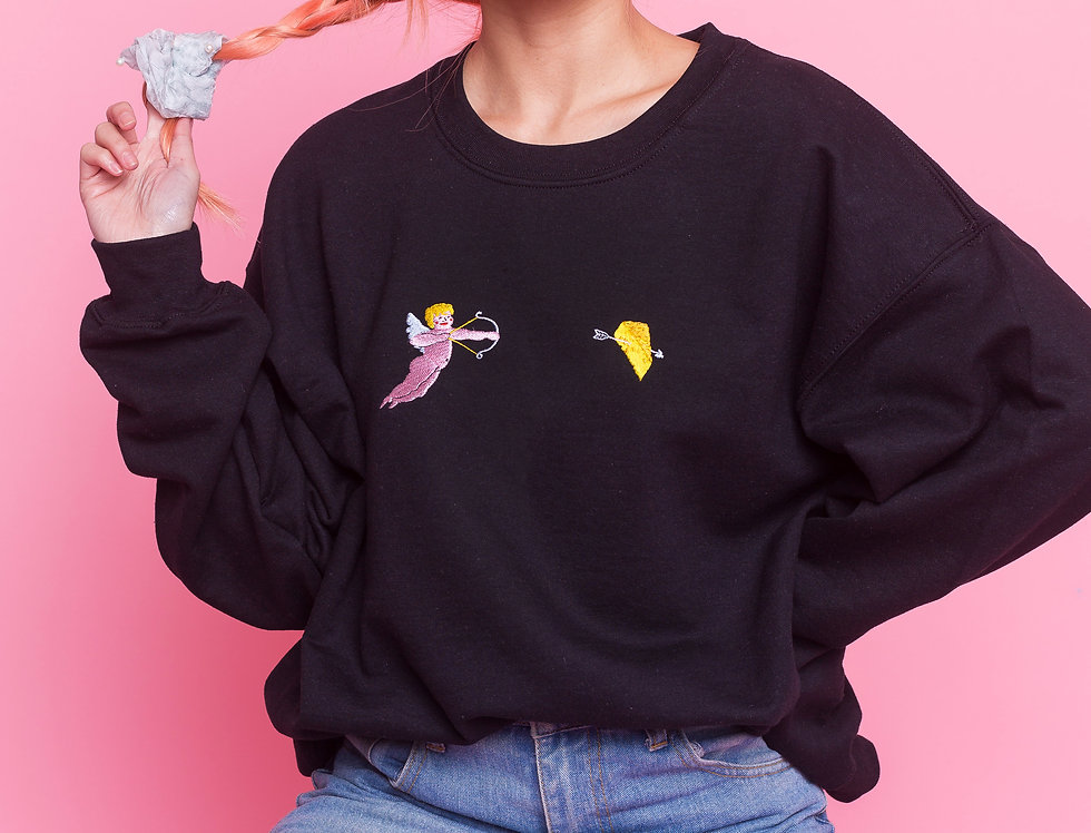 Cheesy Cherub Sweatshirt
