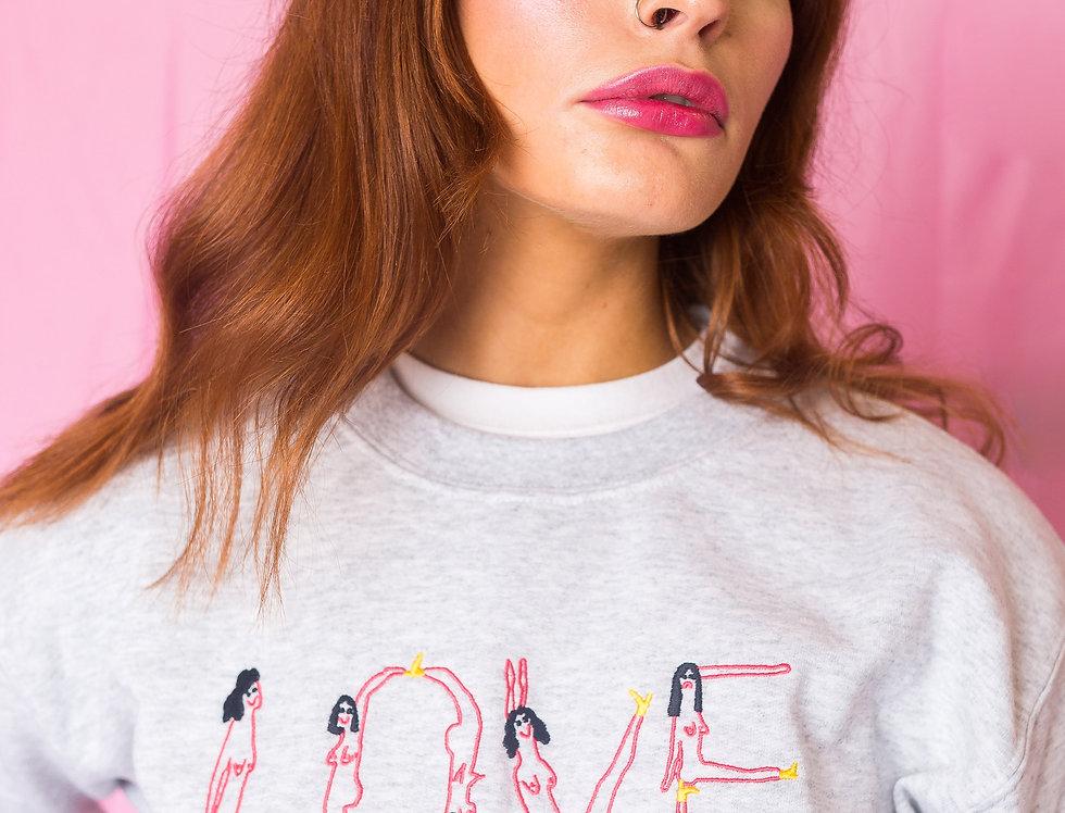Naked Ladies Love Sweatshirt