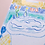 Thumbnail: Dream Blue Bathroom Lady Original Drawing