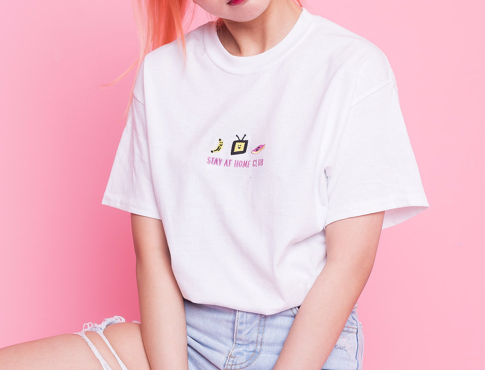 Stay At Home Club T-Shirt