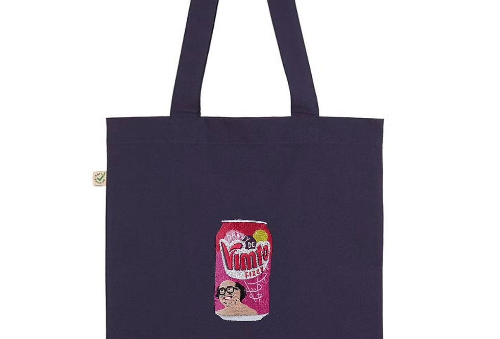 Danny DeVimto Navy Tote Bag