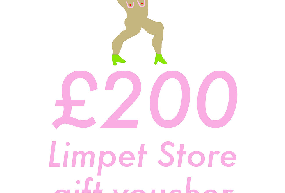 Limpet Store £200 Gift Voucher
