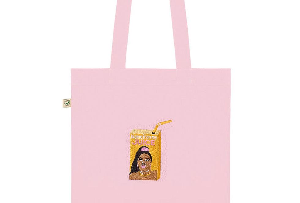 Lizzo's Juice Pink Tote Bag
