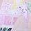 Thumbnail: Dream Pink Bathroom Lady Original Drawing