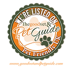 We are listed on The Good Vet and Pet Guide