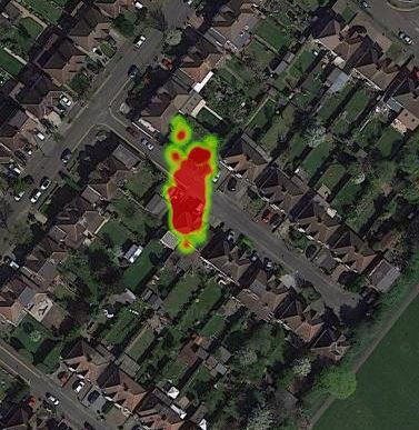 Heatmap (Hotspot example
