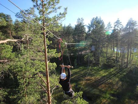 Nõustasime klienti Soomes Vuokattis asuva seikluspargi omandamisel